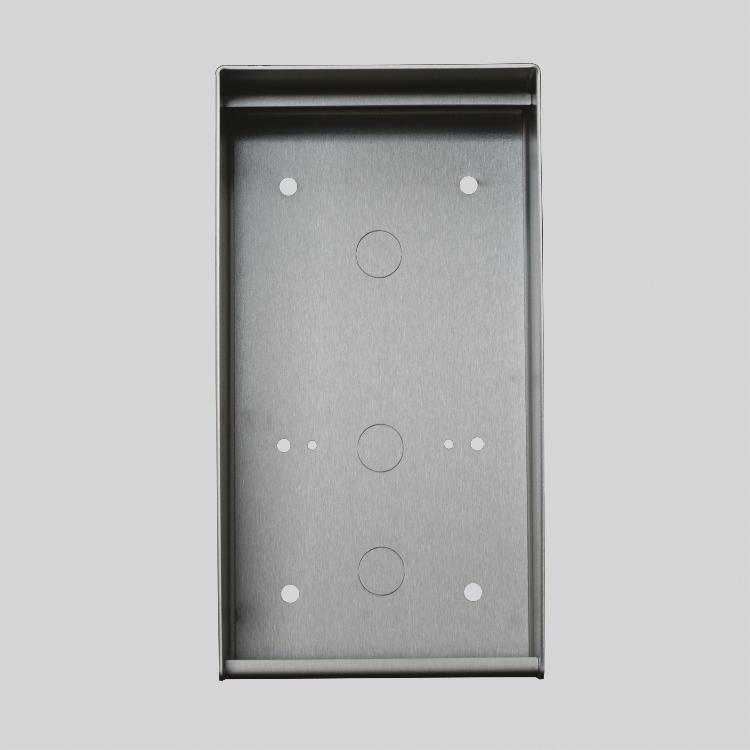 Boitier saillie inox verni pour platine ou plaque 300 x 150.