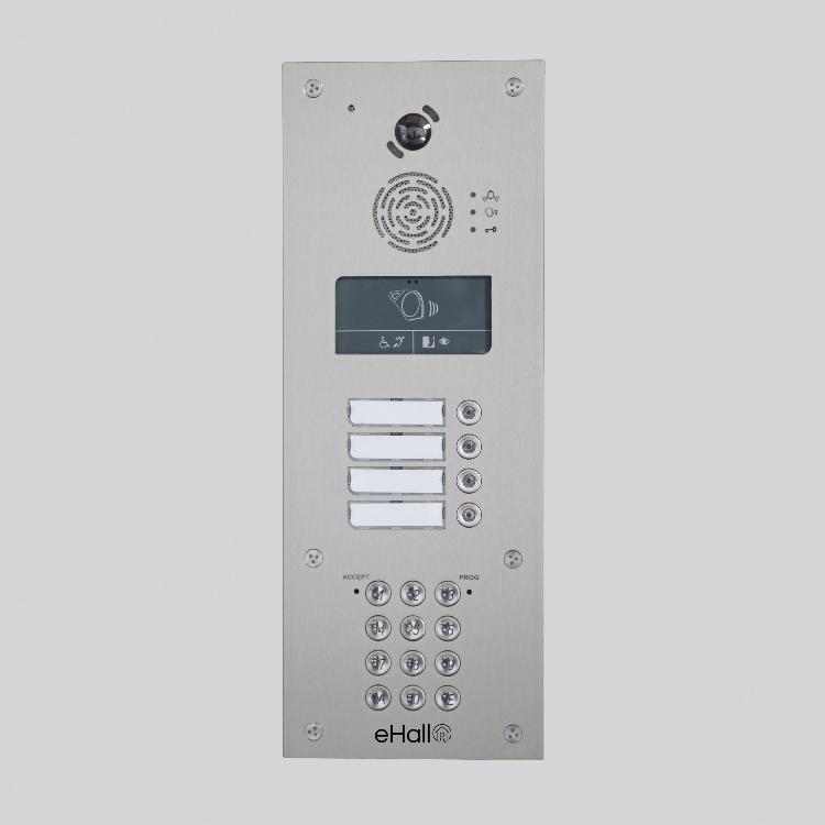 Portier vidéo GSM 10 boutons d'appel avec clavier